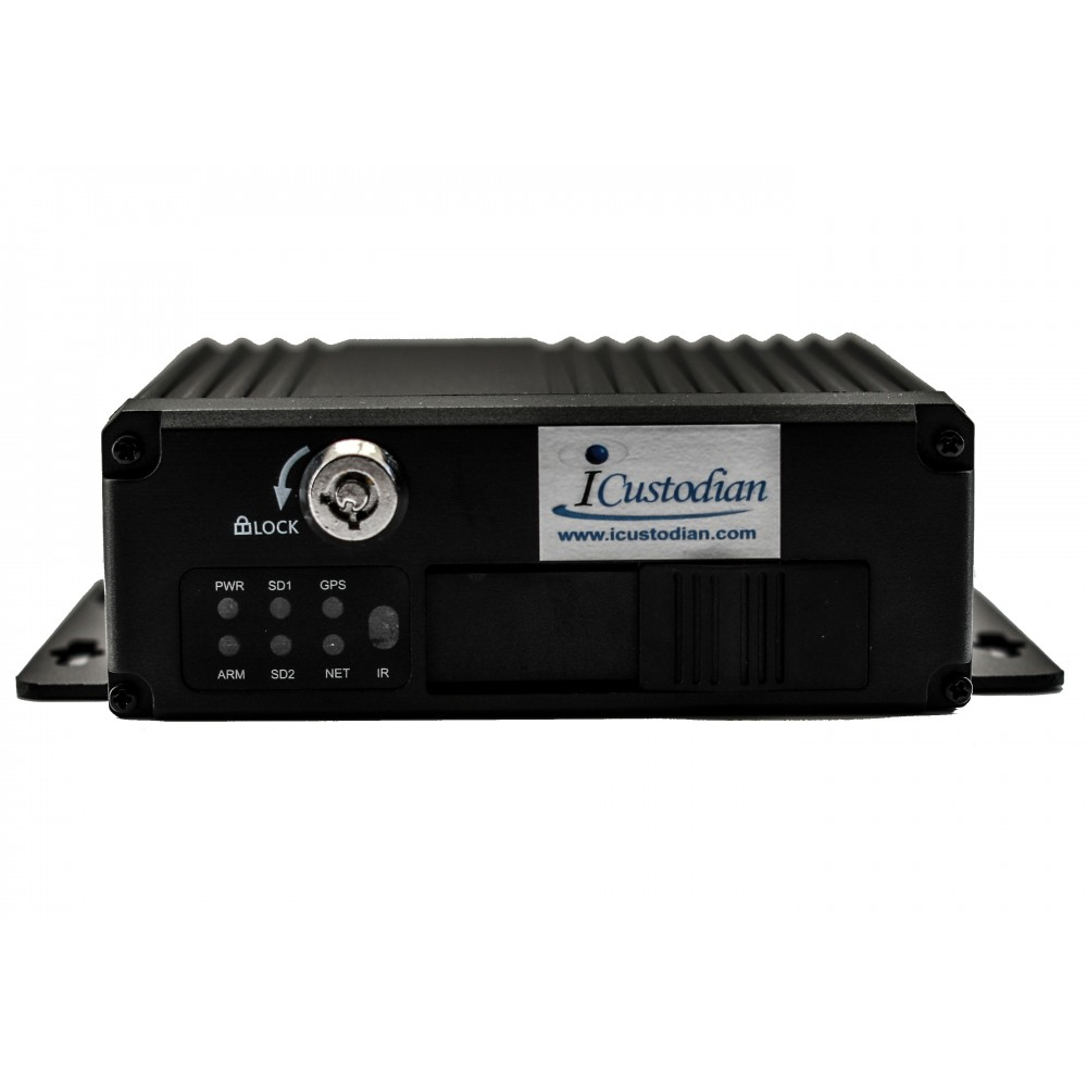 iCustodian® iC6100MDVR Hybrid Mini HD DVR for Homes, Office & Cars