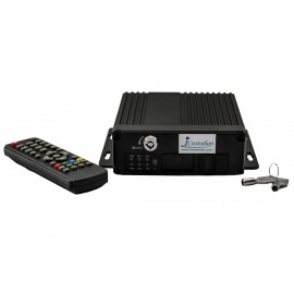 iCustodian® iC6100MDVR Hybrid Mini HD Mobile DVR + 2 cameras + LCD. KIT
