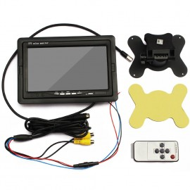 "iCustodian® High Quality 7"" Inch Digital CCTV LCD Dual Display"