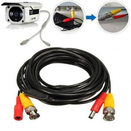 iCustodian® CCTV BNC cable with Video and DC Power.